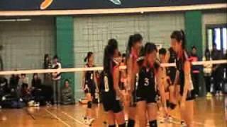 全港學界排球精英賽2010-2011年度 男女子季軍戰