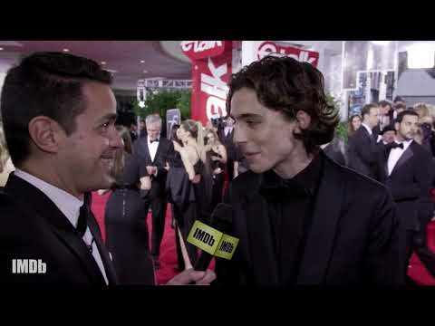 Timothée Chalamet Talks About His Rise to Critical Fame