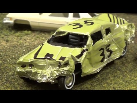 The Making of -  Stop Motion Hot Wheels Demo Derby