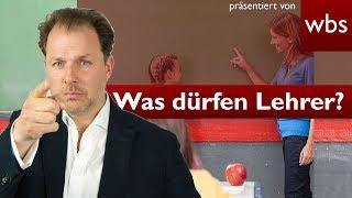 20 Dinge, die Lehrer nicht dürfen (aber trotzdem machen)! | Rechtsanwalt Christian Solmecke