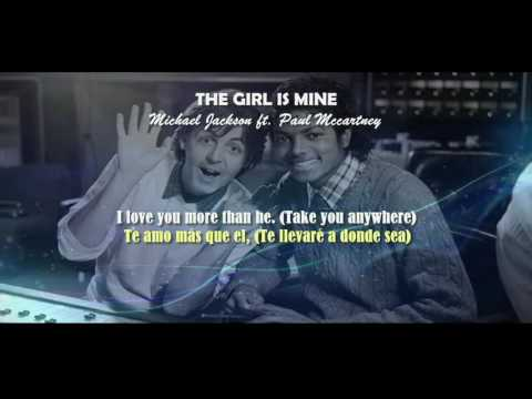 The Girl Is Mine  -  Michael Jackson (Subtitulos en español - Lyric)
