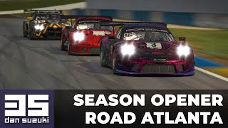 Start of the new season on my favorite track | Porsche GT3 R @ Road Atlanta | iRacing
