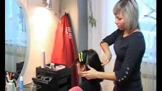 видео Прически на короткие волосы 2012