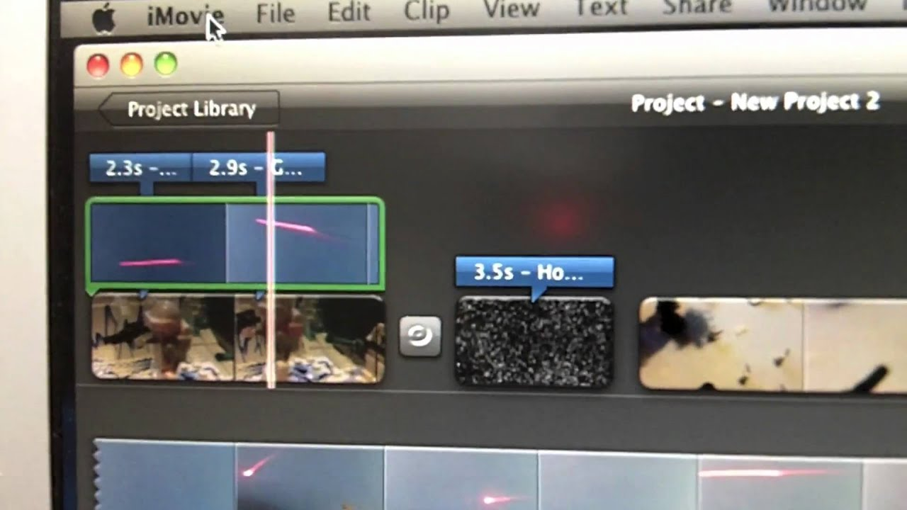 how to add youtube videos on imovie