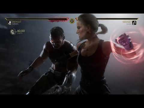 Mortal Kombat 11: Ultimate - Sonya VS Kano Movie Fight Scene - MK 11 Version - PS4/PS5