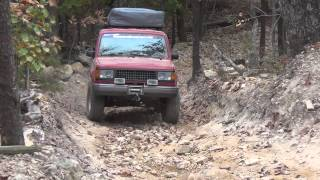 Isuzu Trooper 4 Uwharrie Oct 2012