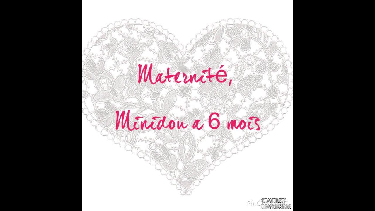 Maternit minidou a 6 mois et maman retour de couche youtube - Allaitement retour de couche ...