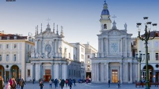 Италия Пьемонте Турин - центр города.(