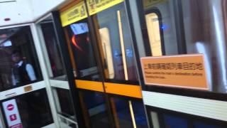 台北捷運橘線 往盧洲出站 三月台 民權西路 c371 4系 466 465