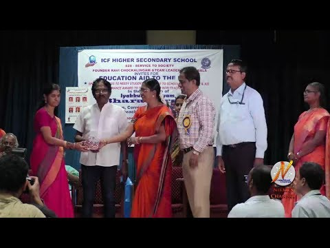 Bharathiraja at Service To Society (S2S) 6th Educational AID Program - ICF High Sec School - Part 2