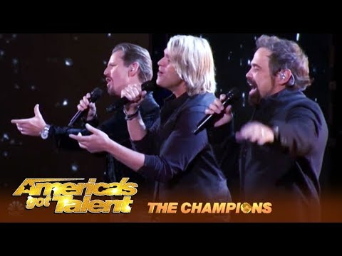 The Texas Tenors: Amazing Vocal Trio Deliver EPIC Perfomance! | Americas Got Talent: Champions