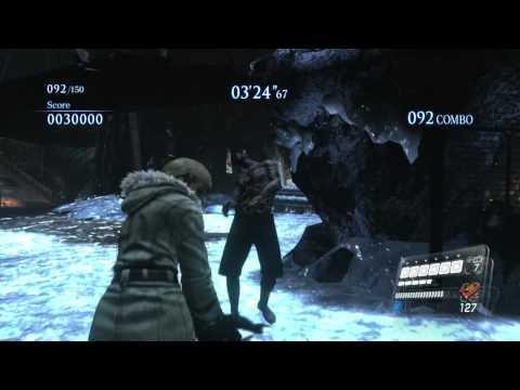 Resident Evil 6 Mercenaries - Mining the Depths - Score: 1106695