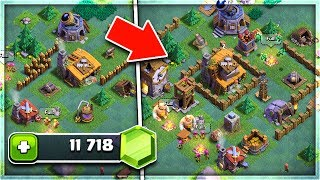 "GEMMING NEW ""BUILDER'S VILLAGE"" UPDATE in Clash of Clans! 