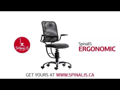 SpinaliS Canada - Ergonomic Series Chair for Great Posture