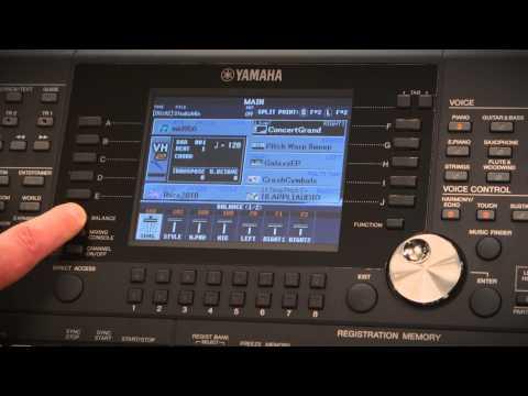 PSR-S950 / PSR-S750 Produktvideo