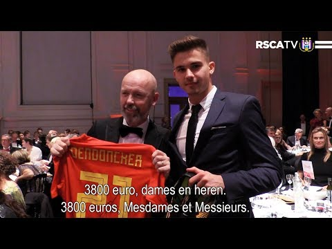 Dendoncker shows his support for the Special Olympics
