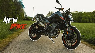 Mein neues Motorrad!   KTM Duke 790