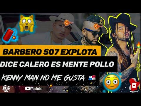 Histórica Entrevista a Barbero 507 Panama, Pone Claro a Calero y Kenny Man No le Gusta   El Chombo