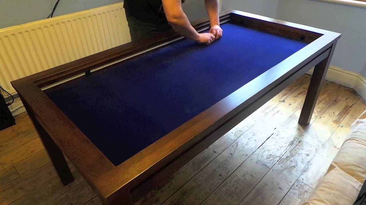 Geeknson The Denis Gaming Table - demo - YouTube