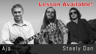 Aja - Steely Dan - Fingerstyle Acoustic Guitar Arrangement - Lesson Available