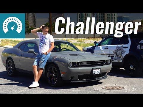 Dodge Challenger: едет ли 3.6L? Тест-драйв Додж Челленджер в США