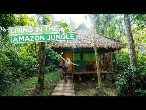Living in the Amazon Jungle | Peru Vlog