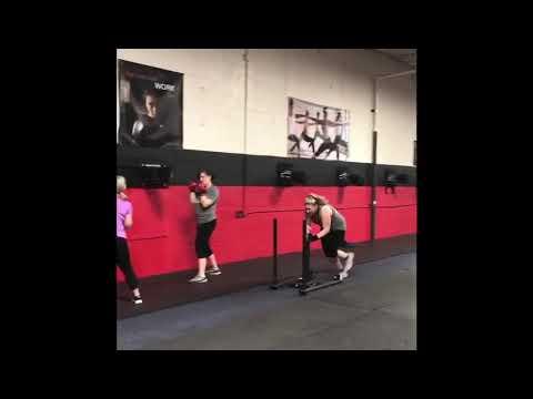 Heavy  Hitter circuit training with Brad
