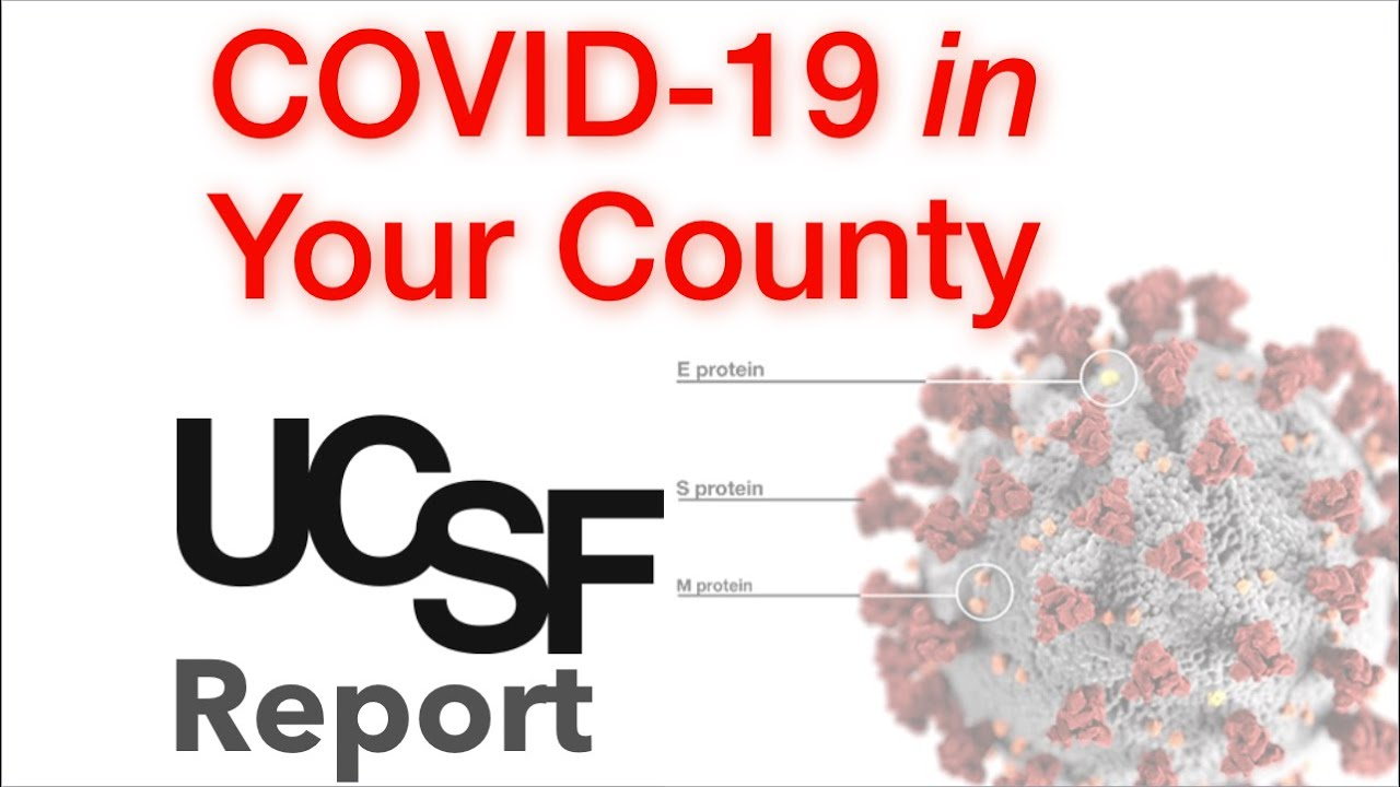 Covid Counties- UCSF Web Application