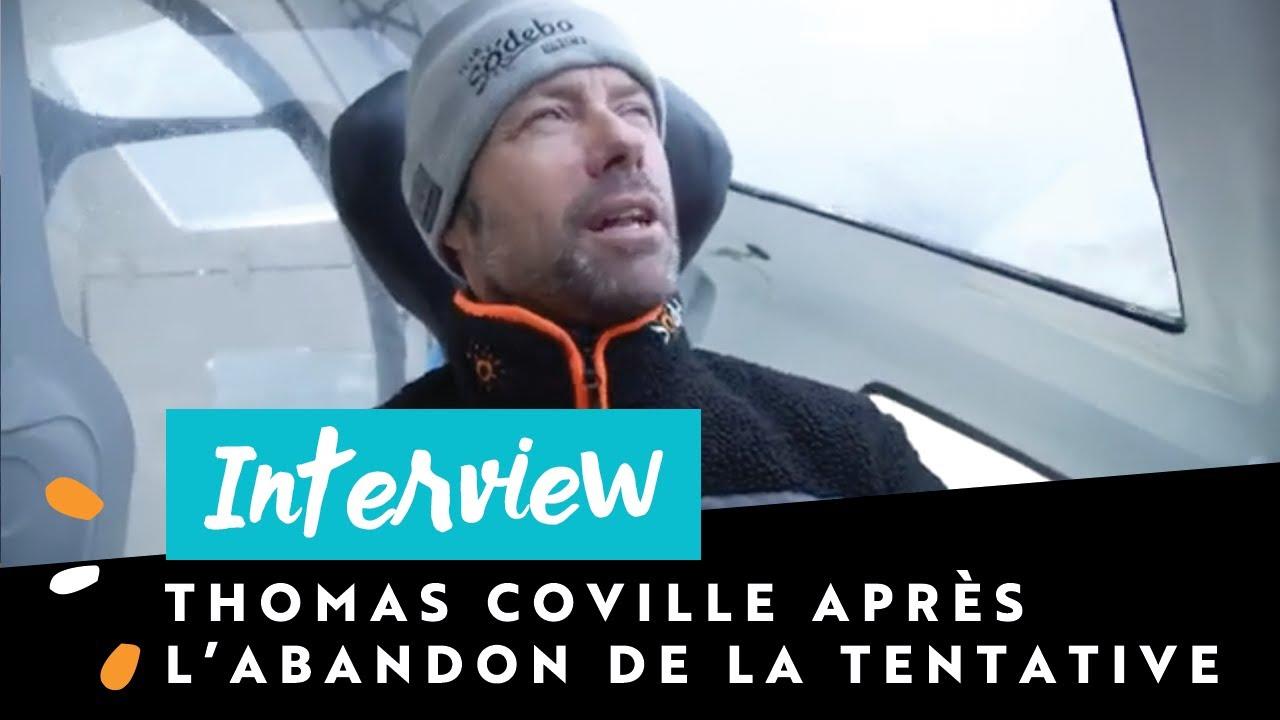 [INTERVIEW 🎙️] Thomas Coville après l'abandon de Sodebo Ultim 3