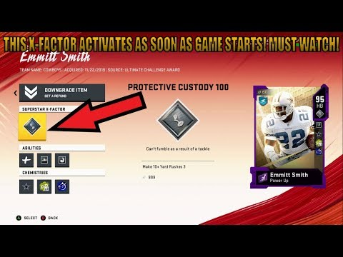 THIS X-FACTOR ACTIVATES AS SOON AS THE GAME STARTS! MUST WATCH! MADDEN 20