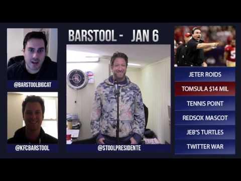Barstool Rundown // January 6th 2016