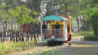 【存続危機?】台湾糖業鉄道八翁線トロッコ列車 糖鐵新営駅到着