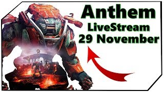 Anthem Livestream 29 November New Gameplay Info Video Deutsch Ger