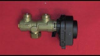 Трехходовой клапан с электроприводом(http://kotel.kr.ua/groopsgvc/fugas15as50/ Комплект трехходового клапана Fugas предназначен для подключения бойлера косвенного..., 2014-05-16T08:27:33.000Z)