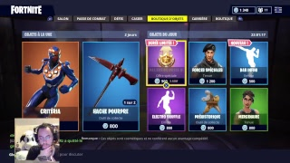 SKIN CHEVALERESSE RED THIS FORTNITE BOUTIQUE THURSDAY 6 JULY 2018