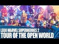 Lego Marvel Superheroes 2 - Tour Of The Open World and Huge Character Roster!