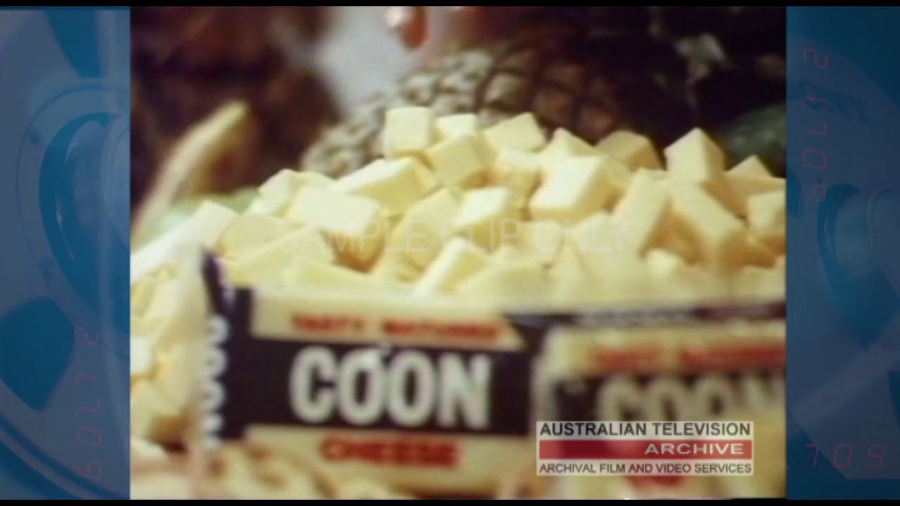 KRAFT COON - (CHEESE), CLASSIC AUSTRALIAN TV COMMERCIAL ...