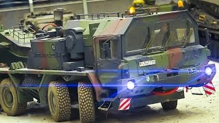 MEGA RC MODEL SCALE TANKS, RC MILITARY VEHICLES, RC CONSTRUCTION IN ACTION!!