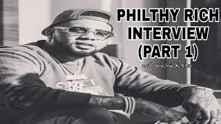 Philthy Rich Interview Responding To Dame Fame Interview Plus New Music And More (PART 1)