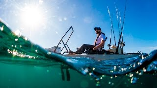 Hobie Kayak Fishing Promo video 2017(Follow along as our team fishes for LargeMouth bass in a beautiful inland lake, search offshore for trophy billfish, cover the Great Lakes for SmallMouth bass and ..., 2017-01-09T21:40:37.000Z)