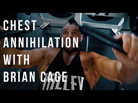 Chest workout with Brian Cage
