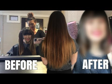 CUTTING MY HAIR SHORT + REACTION FROM BFF!