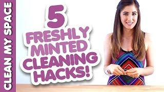 5 More Cleaning Hacks!! Quick & Simple Ideas How to Clean That Save Time & Money (Clean My Space) Thumbnail