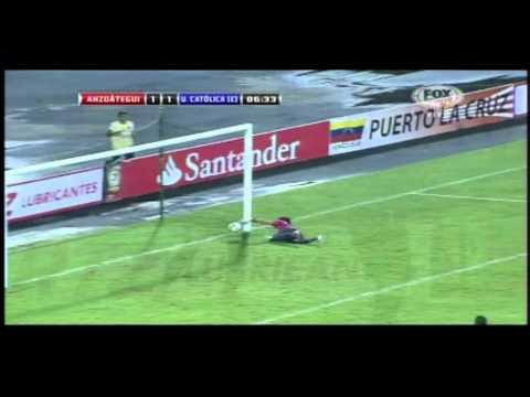 Gol de Wila contra Deportivo Anzoátegui