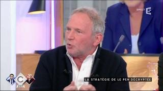 La stratégie de le Pen décryptée - C à vous - 02/05/2017