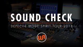 Скачать Warm Audio SOUND CHECK WITH JAMES IVEY DEPECHE MODE SPIRIT TOUR 2018