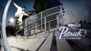 REAL Skateboards presents Patrick Praman