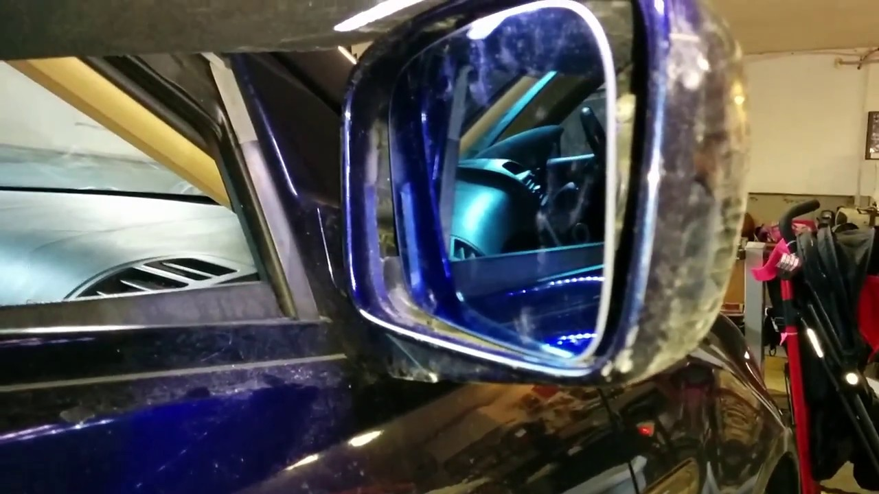 How To Replace Acura Side Mirrors YouTube - Acura mdx side mirror replacement