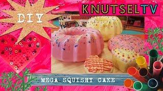 KnutselTV - DIY Squishy Cake