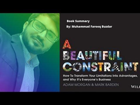 a-beautiful-constrain- muhammad-farooq-buzdar- book-summaries